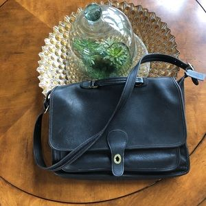 Coach briefcase laptop messenger bag